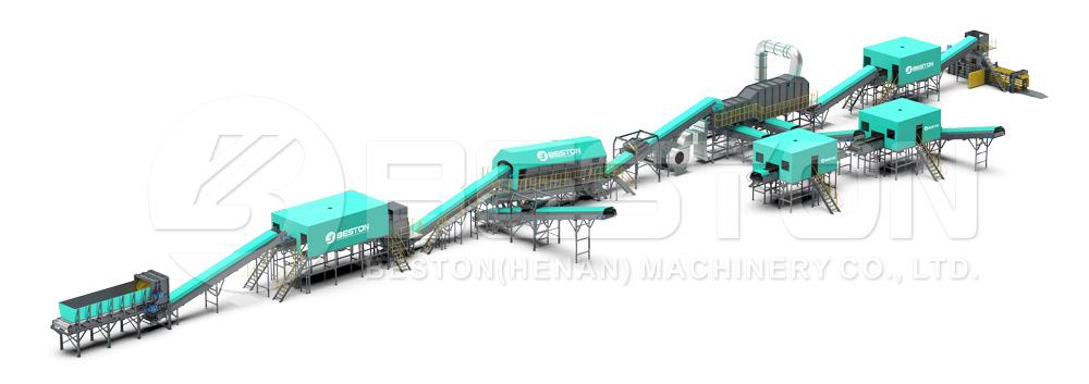 Automatic Waste Segregation Machine