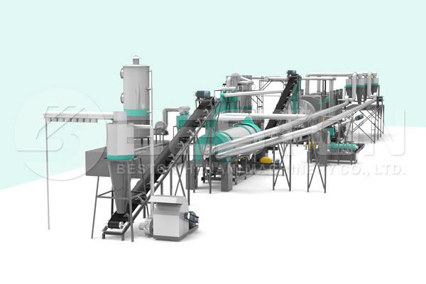 Palm Kernel Shell Charcoal Making Machine